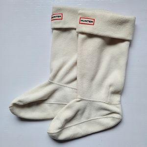 🌼Hunter Original Tall Fleece Welly Boot Socks